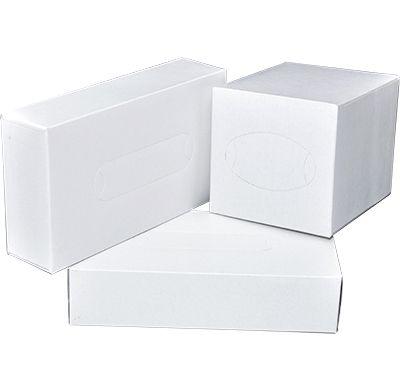 WHITE Facial Tissues